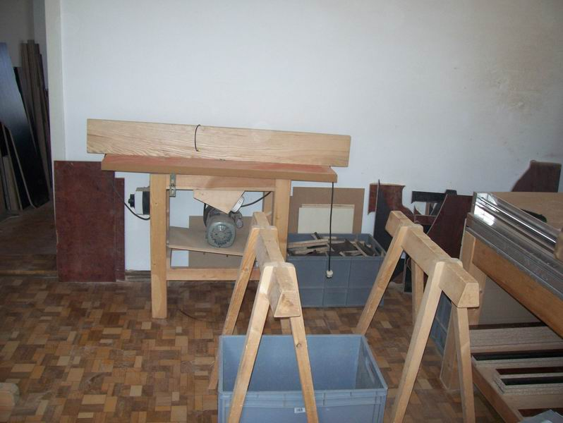 lkw tisch selber bauen